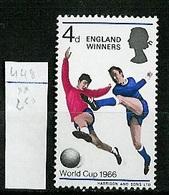 Grande Bretagne - Great Britain - Großbritannien 1966 Y&T N°448 - Michel N°429 *** - 4p Victoire De L'Angleterre - 1952-.... (Elizabeth II)