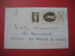 Lettre  -  Cachet - Un Nouveau Bureau De Poste à Nimes - Commemorative Postmarks