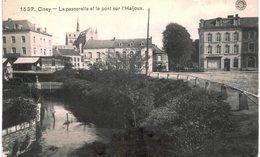 CINEY  La Passerelle Et Le Pont Sur L' Haljoux. - Ciney