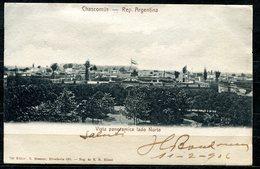 CARTOLINA CV2364 ARGENTINA Chascomus, Vista Panoramica Lado Norte, 1906, Viaggiata Per L'Italia, Formato Piccolo, Ottim - Argentina