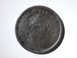 Penny Georgius III Hibernia Irlande 1805 - Irlande