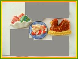 Gourmandises De Fetes .. Lot De 3... Ref AFF  : 48-2008...( Pan 001 ) - Charms