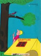 Illustrateur LASSALVY - Le Caravaning.  Attention, ça Va Casser !  (voir Scan). - Lassalvy
