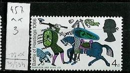 Grande Bretagne - Great Britain - Großbritannien 1966 Y&T N°457 - Michel N°438 *** - 4p Bataille D'Hastings - 1952-.... (Elizabeth II)
