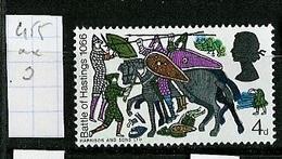 Grande Bretagne - Great Britain - Großbritannien 1966 Y&T N°455 - Michel N°436 *** - 4p Bataille D'Hastings - 1952-.... (Elizabeth II)