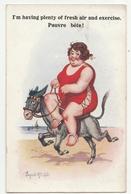 Cartolina - Postcard - Viaggiata -  Sent  - Umoristica - Humor