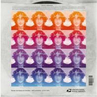 USA. Hommage à John Lennon. Feuillet Entier De 16 Timbres Neufs ** Etats-Unis, Année 2018. Deux Photos - Zangers