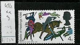 Grande Bretagne - Great Britain - Großbritannien 1966 Y&T N°454 - Michel N°435 *** - 4p Bataille D'Hastings - 1952-.... (Elizabeth II)