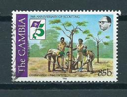 1982 Gambia Scouting Used/gebruikt/oblitere - Gambia (1965-...)