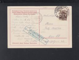 Österreich PK 1937 Semmering Sonnwendstein Friedr. Schüler Alpenhaus - Briefe U. Dokumente