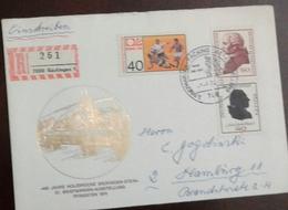 L) 1974 GERMANY, FOOTBALL, IMMANUEL KANT, PHILOSOPHER, 90C, FRIEDRICH GOTTLIEB KLOPSTOCK, MULTIPLE STAMPS, XF - Germany