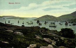 China, MACAO MACAU 澳門, Harbour Scene (1910s) Postcard - China