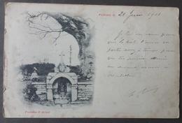 CPA 56 PLOERMEL - Fontaine St Armel - Edit Librairie Brunet Précurseur - Voir état -  Réf. X 113 - Ploërmel