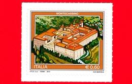 Nuovo - MNT - ITALIA - 2012  - Turismo - Montecassino - 0,60 - 6. 1946-.. Repubblica