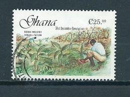 1988 Ghana Revolution Used/gebruikt/oblitere - Ghana (1957-...)
