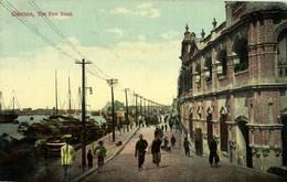 China, CANTON GUANGZHOU 廣州, The New Bund (1910s) Postcard - China