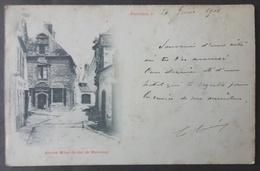 CPA 56 PLOERMEL - Ancien Hôtel Du Duc De Mercoeur - Edit Librairie Brunet Précurseur - Voir état -  Réf. X 114 - Ploërmel