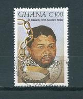 1987 Ghana Nelson Mandela Used/gebruikt/oblitere - Ghana (1957-...)