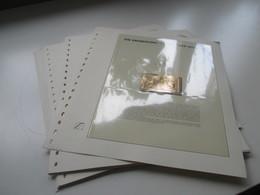 Slg. Die Eroberung Des Mondes Marken / Blocks / LKB Auf VD Seiten Auch Ungezähnte Marken! Übersee! 1960er Jahre?! - Briefmarken