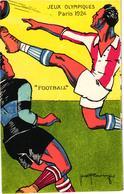 """JEUX OLYMPIQUES DE PARIS 1924""""FOOTBALL"""" REF 58850A - Olympische Spiele"""