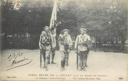 Themes Div-ref AA339- Guerre 1914-18- Tchequie - Slovaquie - Drapeau Tcheco Slovaque -paris Revue Du 14juillet - - Weltkrieg 1914-18