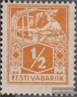 Estonia 32A Con Fold 1922 Francobolli: Artigiano - Estonia