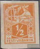 Estonia 32B With Hinge 1922 Clear Brands: Craftsman - Estonia
