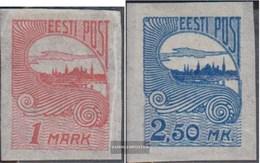 Estonia 27-28 (complete Issue) With Hinge 1920 Reval - Estonia