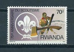 1983 Rwanda Scouting 70F Used/gebruikt/oblitere - Rwanda