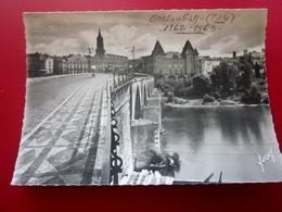 CPSM Carte Postale Europe  France  [82] Tarn Et Garonne  Montauban PORT VIEUX SUR LE TARN état Voir Scanns - Montauban