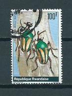 1978 Rwand Insects 100F Used/gebruikt/oblitere - Rwanda