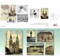 Belgium 2017 Presales Document With FD Cancellation 10-Jun-2017 Ekeren, Eupen, Église Saint-Nicolas - Black-and-white Panes