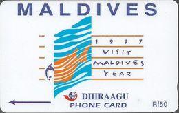 Maldives - 1997 Visit Maldives Year - 164MLDD - Used - Maldives