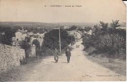 Carteret.route Du Phare Petit Manque Bor Superieur Droit - Carteret