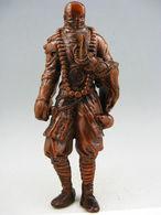 COLLECTION VIEUX BUIS HANDWORK Japonais SAMOURAI  Rare Antique Statue Netsuke - Arte Asiático