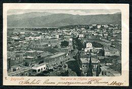 CARTOLINA CV2395 LIBANO LIBAN Beyrouth Panorama, 1902, Viaggiata Per L'Italia, Formato Piccolo, Francobollo Asportato, O - Libano