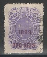 Brésil - YT 107 Oblitéré - 1899 - Brasil