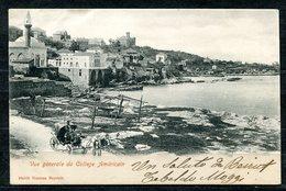 CARTOLINA CV2396 LIBANO LIBAN Beyrouth American College, 1902, Viaggiata Per L'Italia, Formato Piccolo, Francobollo Aspo - Libano