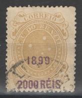 Brésil - YT 111 Oblitéré - 1899 - Brasil