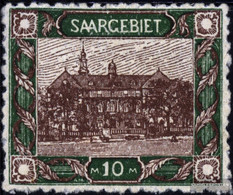 Saar 68 With Hinge 1921 Landscapes - 1920-35 League Of Nations