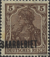 Saar 44a With Hinge 1920 Germania - 1920-35 League Of Nations