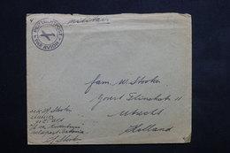 INDES NÉERLANDAISES - Enveloppe D ' Un Militaire De Batavia Pour Utrecht - L 22360 - Indes Néerlandaises