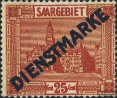 Saar D6 Unmounted Mint / Never Hinged 1922 Landscapes III - Officials