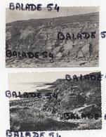 2 CPA + 5 Photos Offertes - AUDRESSELLES (62) La Falaise Du Cran Poulet Et La Grotte - Voir Scan - Autres Communes