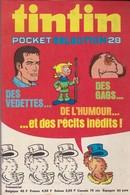 Tintin - Pocket Sélection 28 - Edition Du Lombard - Avril 1975 - Tintin