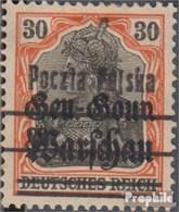 Pologne 11I Avec Charnière 1918 Allemagne Avec Surcharge - ....-1919 Provisional Government