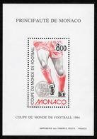 MONACO BLOC FEUILLET   SPECIAL N°25 COUPE DU MONDE DE FOOTBALL USA  1994 NEUF** LUXE - Blocs