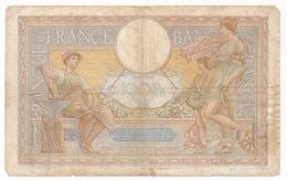 BANQUE DE FRANCE  CENT FRANCS  6_10_1938 LUC OLIVIER MERSON _ 2 SCANS - 1871-1952 Anciens Francs Circulés Au XXème