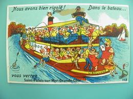 ST/134- 17 - Saint-Palais-sur-Mer - La Croisiere S'amuse -GABY 112 - Saint-Palais-sur-Mer