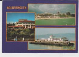 Postcard - Bournemouth Three Views -  Posted  3rd Sept 1993  Very Good - Cartes Postales